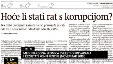 Photo of TVSA Mladima: Međunarodna sedmica svijesti o prevarama i rezultati konferencije (novembar 2019)