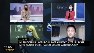 Photo of TVSA Mladima: Mladi tolerišu korupciju, moraju imati veze i plaćati mito kako bi dobili radno mjesto. Zato odlaze?
