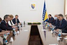 Photo of Komšić i Džaferović s Bergerom-Provesti reforme koje će BiH voditi ka EU i NATO