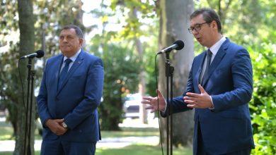 Photo of Vučić i Dodik saglasni da Inzkova odluka nije dobra