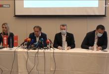"""Photo of Lideri """"Trojke"""" na današnjoj konferenciji za novinare nisu krili ogorčenje trenutnim stanjem u bh. pravosuđu"""